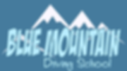 Blue Mountain Driving School Logo