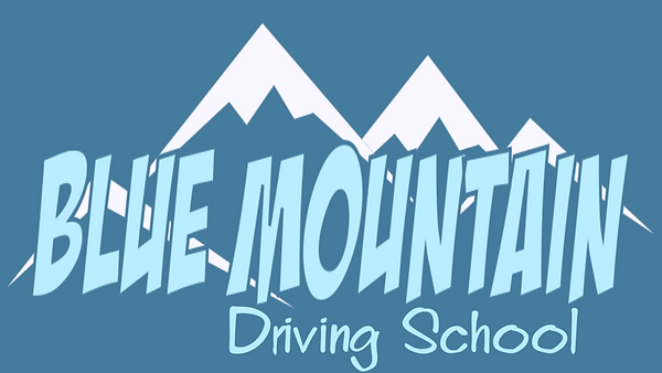 Blue Mountain Driving School Logo