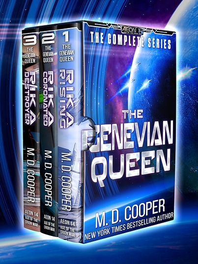 The Genevian Queen: The Complete Series