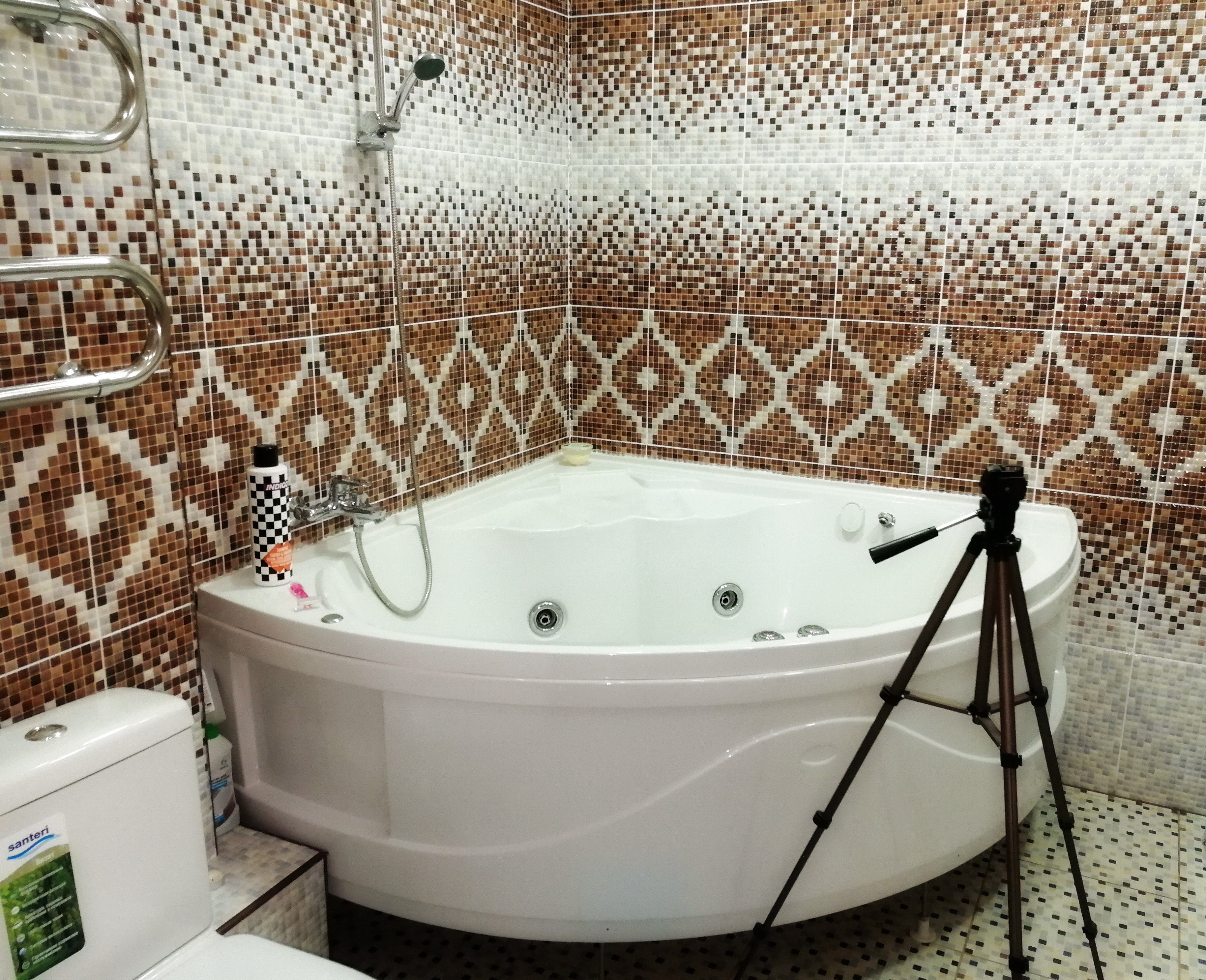 Работа в ванной - Вебкам студияLotos