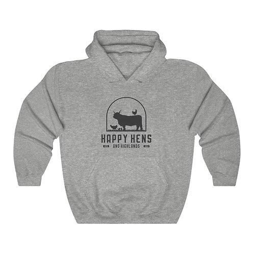 Highland Cow Unisex Hooded Sweatshirt