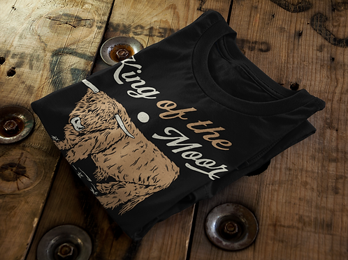 Unisex Jersey T King of the Moor