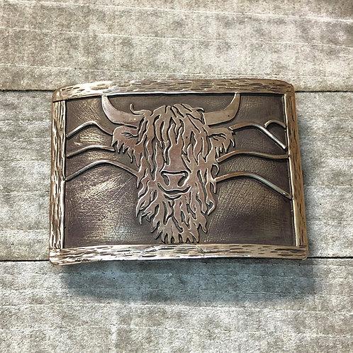 Handmade Sterling Silver Belt Buckle