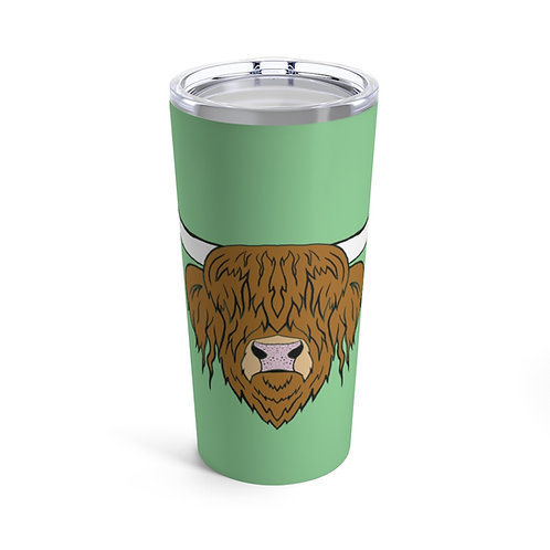 Autumn the cow Tumbler 20oz