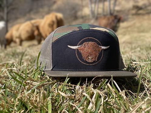 Embroidered Richardson 7-panel Trucker Hat