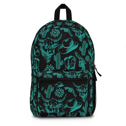 Western Print Backpack