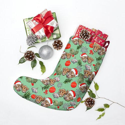 James & Timmy Christmas Stocking