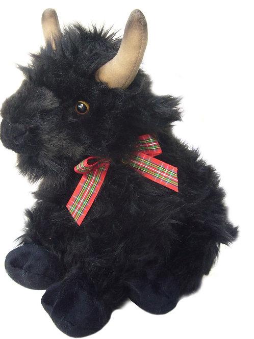 Black Large Highland Cow Plush