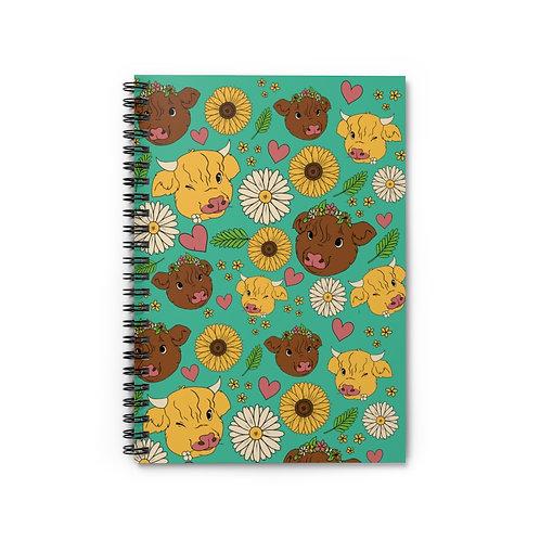 Highland Cow Notebook