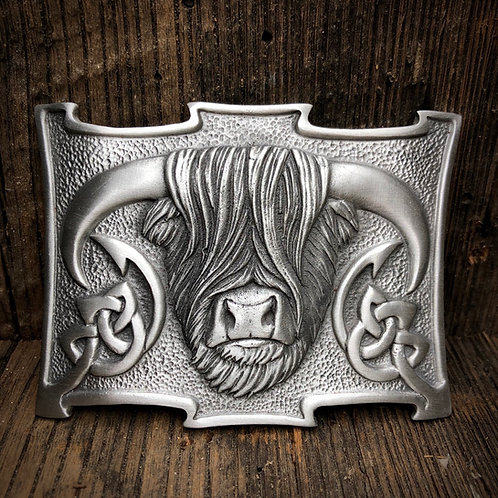 Highland Bull Beltbuckle