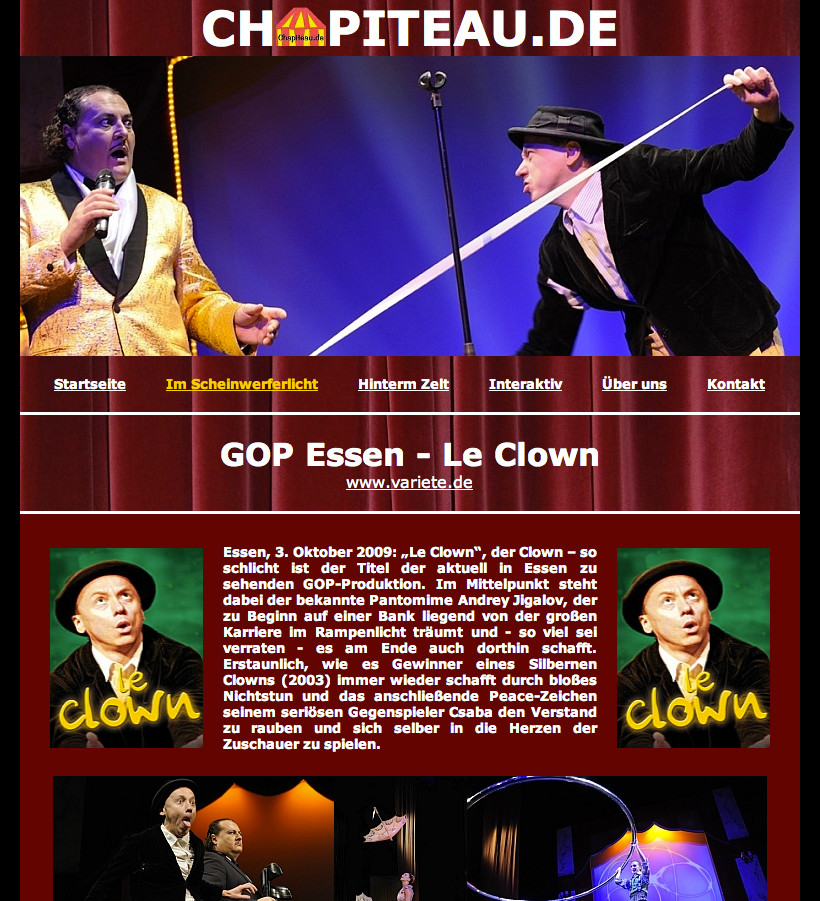 GOP ESSEN - La Clown