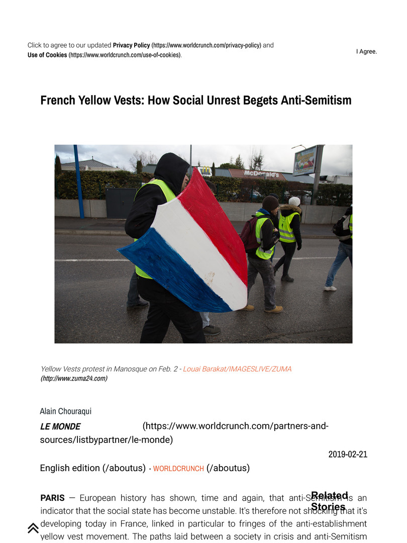 French Yellow Vests_ How Social Unrest B