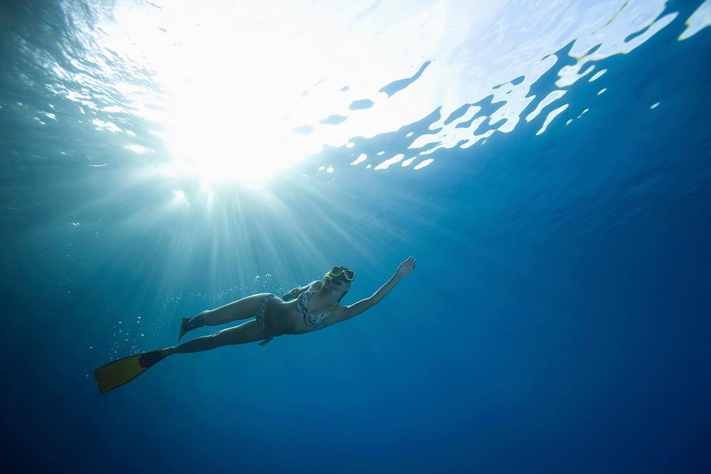Fantastic snorkeling in the Caribbean