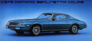 1979 Chevrolet Camaro Berlinetta Coupe 3