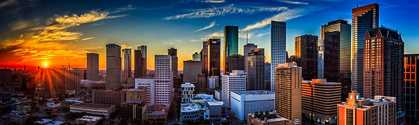 Houston city sky line