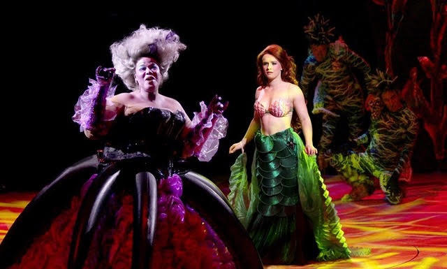 The Little Mermaid - North Shore Music Theatre (Kecia Lewis and Adrienne Eller)