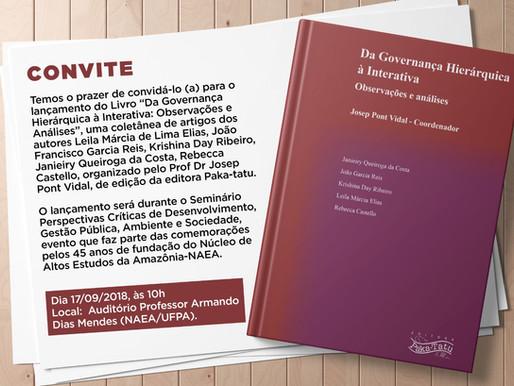 Lançamento de coletânea com coordenação de Josep Pont Vidal acontece na próxima segunda