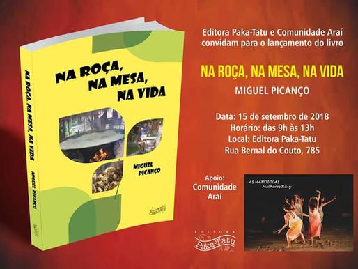 Lançamento do livro de Miguel Picanço