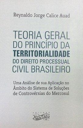 Teoria Geral do Princípio da Territorialidade...