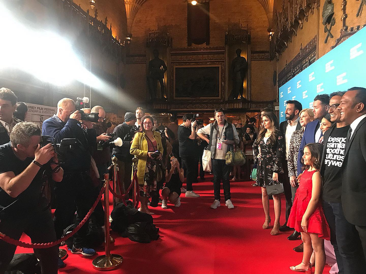 Slam Premiere - Sydney Film Festival 2019 at the State Theatre