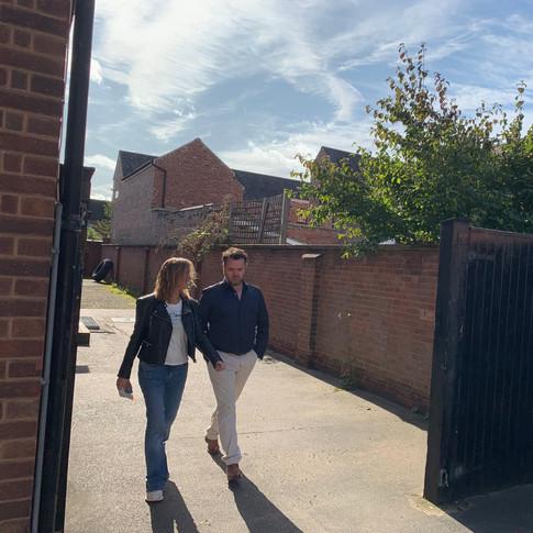 Robert Roworth and Surveilled Producer Caroline Spence