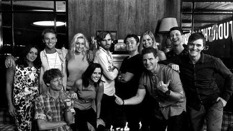 The Cast Picture   The Late Shift with Nick Gulliver