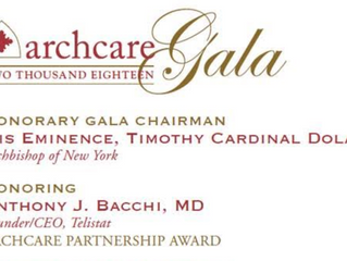 2018 Archcare Gala Announces Honoring Dr. Anthony J. Bacchi