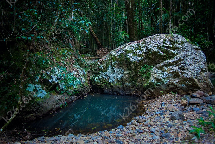 Gorge Falls small rockpool