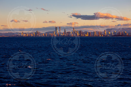 Skyline viewed from the Coral Sea