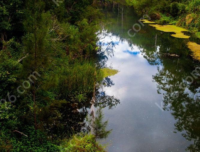 Hinterland river