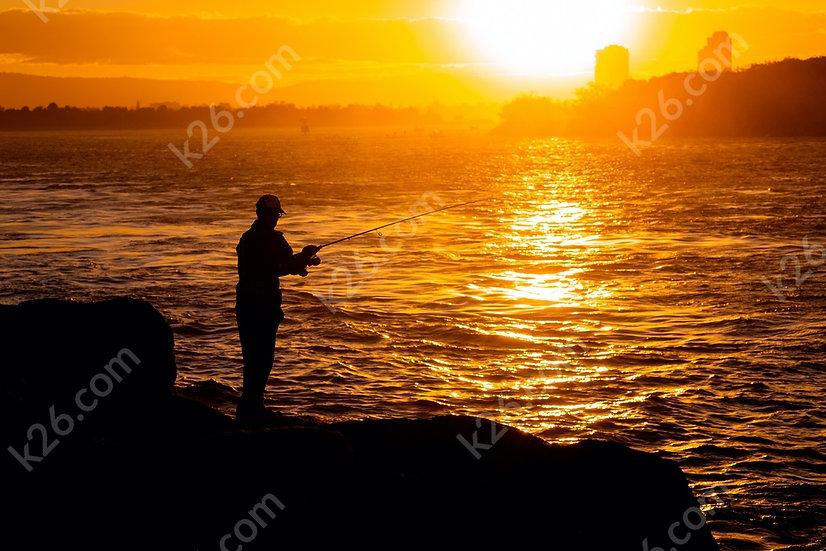 Fishing at the Gold Coast seaway