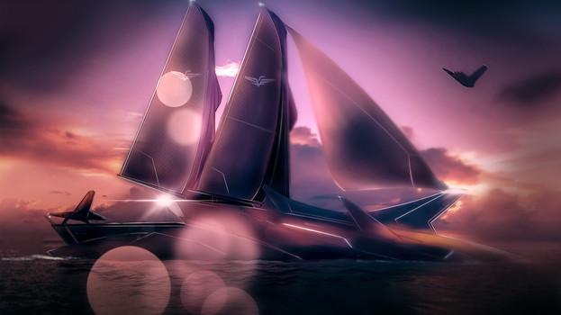 Empress Cleo's Yacht