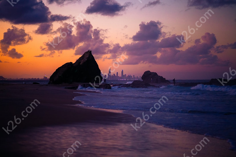 Gold Coast skyline from Currumbin