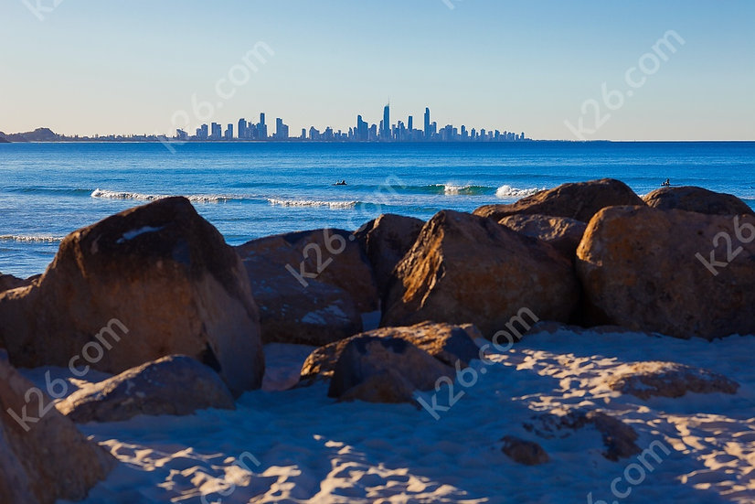 Sunny Gold Coast skyline