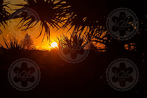 Fingal Head sunset
