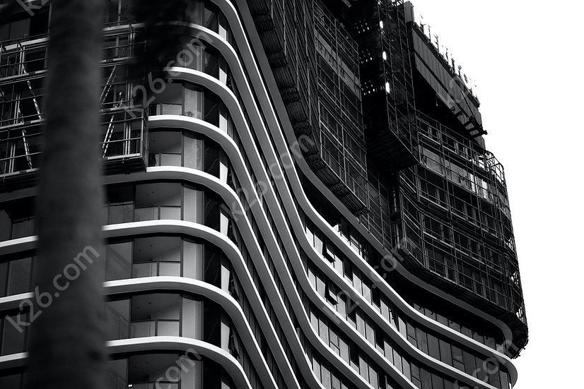 Ocean tower construction