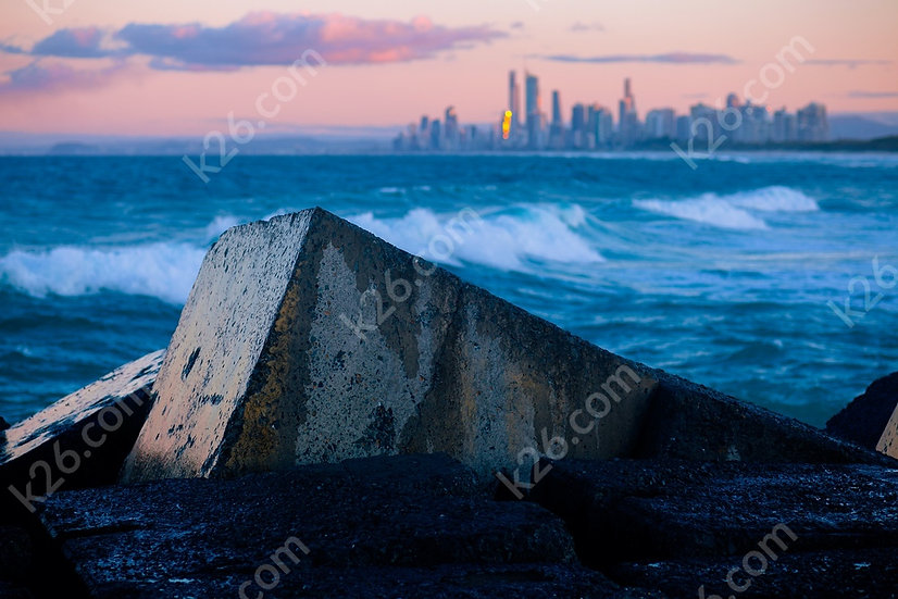 Gold Coast Skyline from the Spit