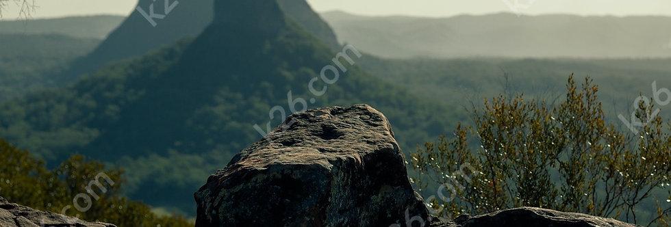 Glasshouse Mountains vista
