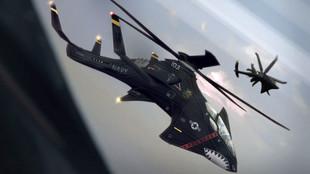 Black Mamba high speed rotary troop transport.