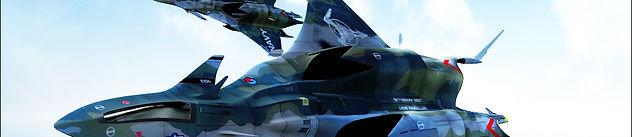 Chimera Fighter above Atlantis