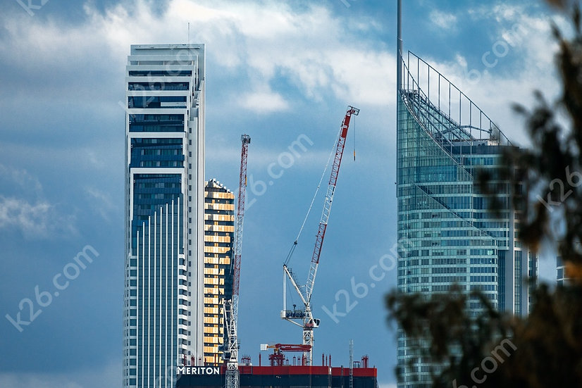Ocean tower construction with Q1 and Soul