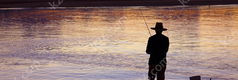 Fishing on the Broadwater