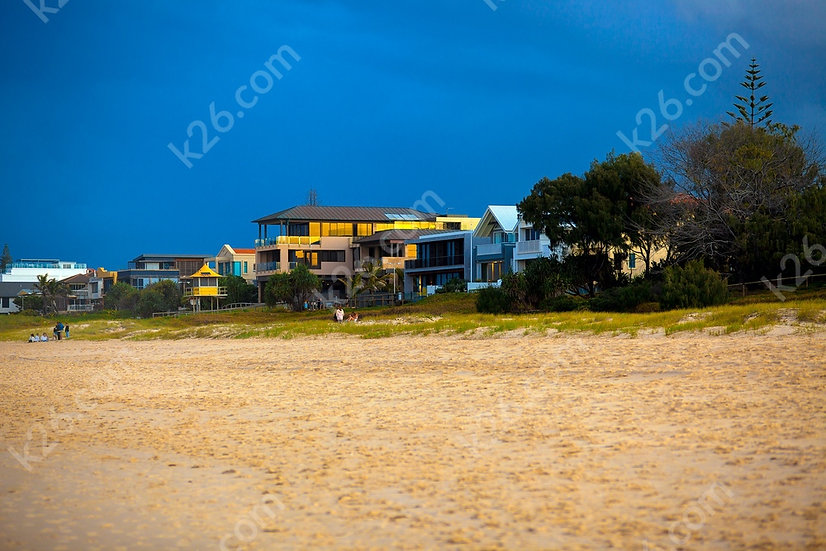 Houses at Mermaid Beach