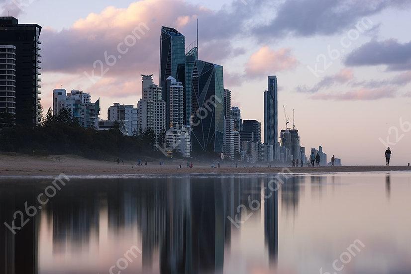 Reflective skyline