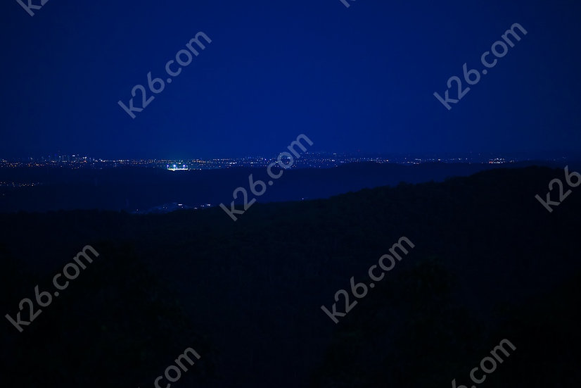 Cbus Super Stadium at night