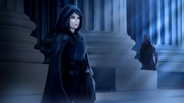 Kyla slips out of the palace