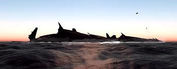 Supercarriers near Atlantis
