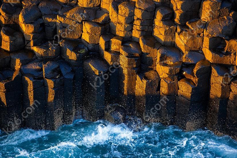 Basalt columns at Fingal Head