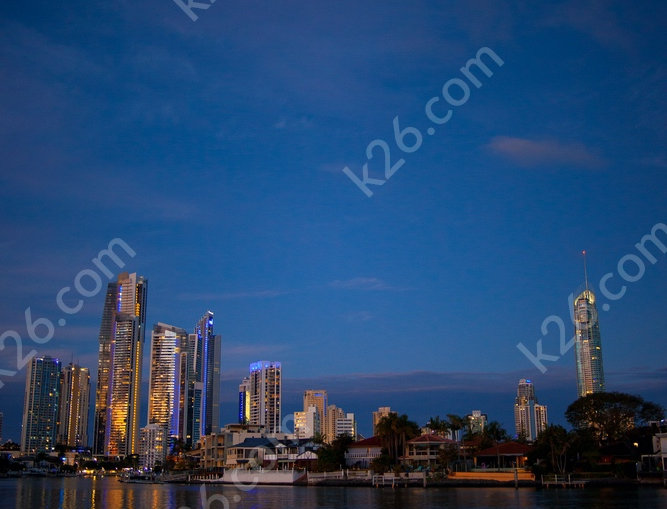 Surfers Paradise skyline with Q1