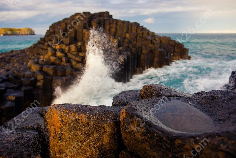 Fingal Head basalt columns